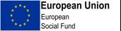 European Union European Social Fund logo